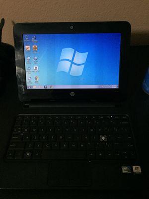 Laptop hp Mini 2102 intel atom