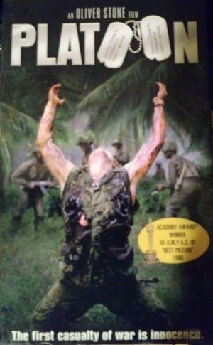 "Platoon ""VCR/VHS Movie"""
