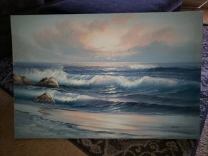 Ocean Painting large picture