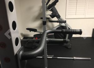 Dip handles, gym accessory kit for cage! Excellent condition, like new!!