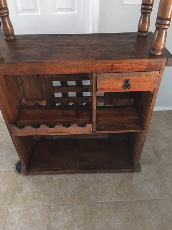 Rustic wood bar furniture in phoenix az offerup for Furniture 85050