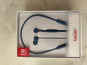 BeatsX Wireless In-Ear Headphones - Blue
