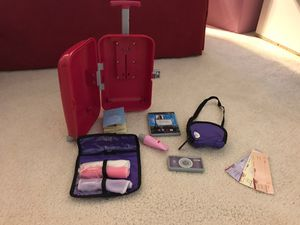 American girl (our Generation) play travel set - like new