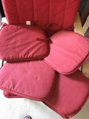 Set of 4 chair pillows