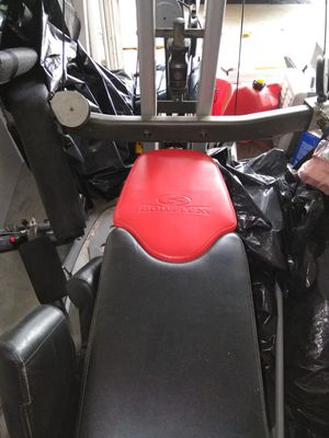 Bow flex exercise machine