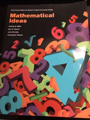 Mathematical ideas $40