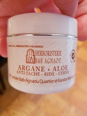 Moroccan Argan and Aloe Cream