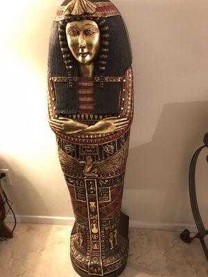 Egyptian CD holder