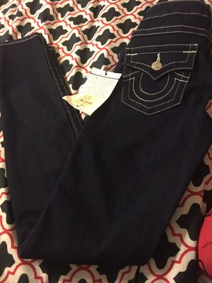 New women's true religion skinny jeans size 26