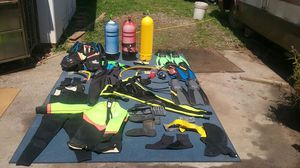 Scuba diving gear for tree people $7,000.00