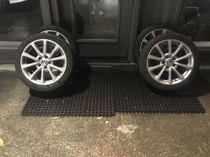 "Honda S2000 AP2v2 wheels w/ tires 17"" 5x114.3 Staggered Oem"