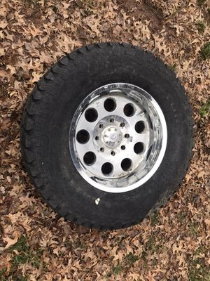 Hummer tire and rim