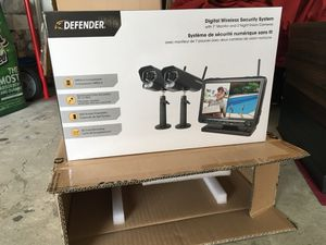 Defender wireless security cameras