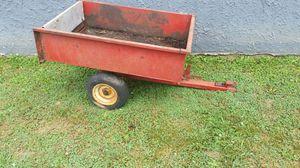 Lawnmower cart
