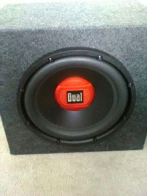 """Dual 15"""" car speaker"""