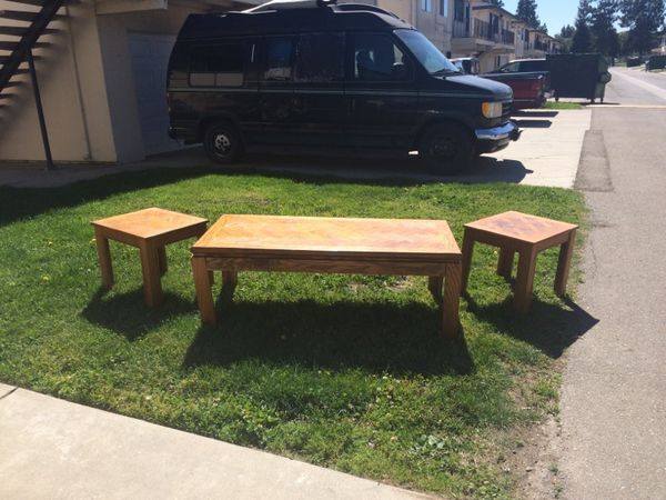Coffee End Table Set Furniture In Stockton Ca Offerup