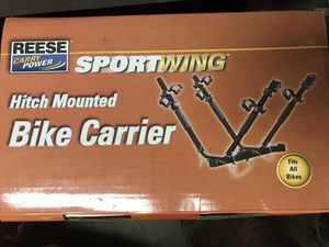 New hitch mount 4-bicycle carrier
