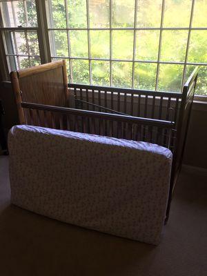 Baby crib and brand new mattress