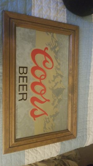 1988 VINTAGE COORS BEER SIGN FACTORY MADE