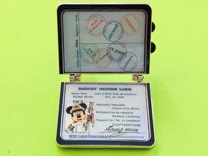 Disney Mickey Passport Pin