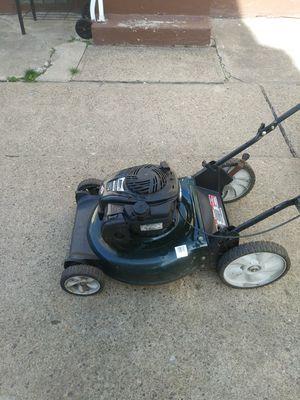 big wheel lawn mower