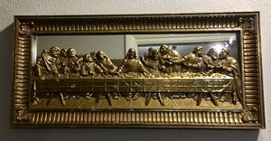 Gold Last Supper Mirror