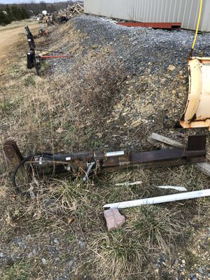 Wood splitter 3 point hitch