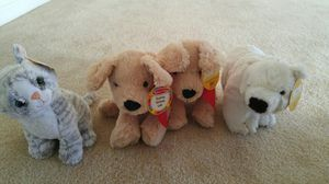 4 New with tags Melissa and Doug stuffed animals