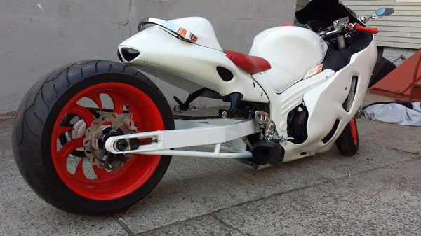Suzuki hayabusa with fat tire n air ride *** (Motorcycles) in Boston ...
