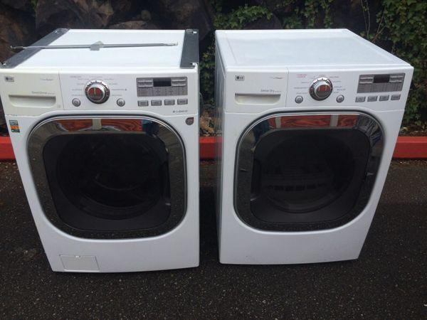 Lg Electric Washer N Dryer Set Appliances In Monroe Wa