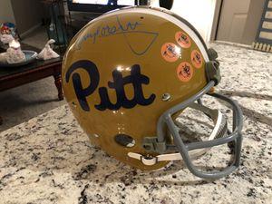 Tony Dorsett Autographed Pitt Panthers Full size RK Helmet JSA certified $300