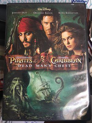 Pirates of the Caribbean movie 2 discs