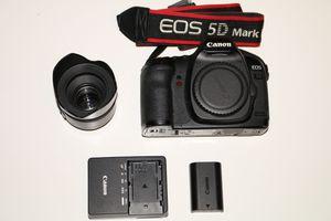 Canon 5D Mark ii + 50mm F1.8 Lens