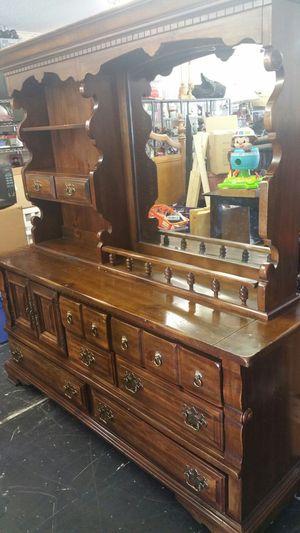 2 piece dresser and mirror $99 firm price