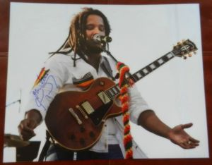 Stephen Marley One Love Autographed 16x20 Photograph