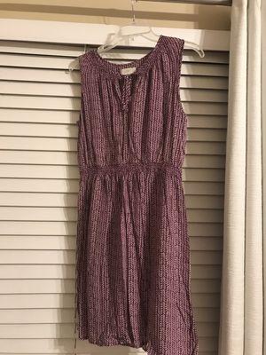 Size 2 Loft dress with stretch waist!
