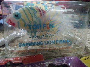 Topfin aquarium decor swimming lion fish