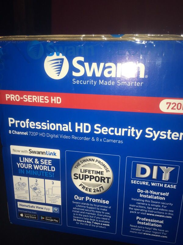 8 ch swann hd security system electronics in los angeles ca 8 ch swann hd security system solutioingenieria Choice Image