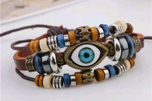 Eye Beaded Bracelet