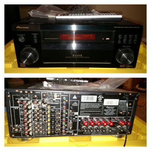 Pioneer Elite Vsx 52tx 7 1 Thx Surround Sound Receiver
