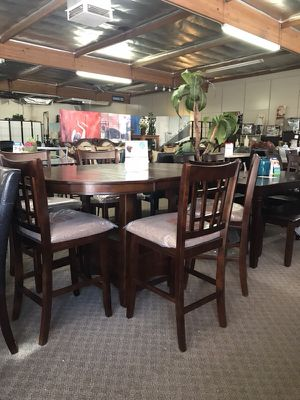 Brand New 7pc Counter Height Dining Set 499 Only No Credit Check Finance Available