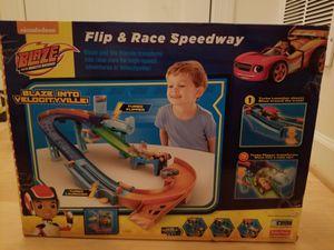 Brand new race track set