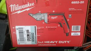 Milwaukee Electric metal shear's brand new unopened