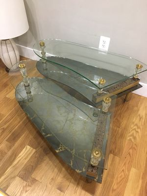 Vintage Glass Coffee Tables