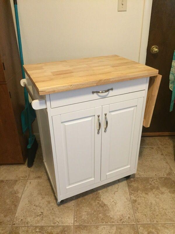 Mainstay Kitchen Cart W/ Wheels! (Household) In