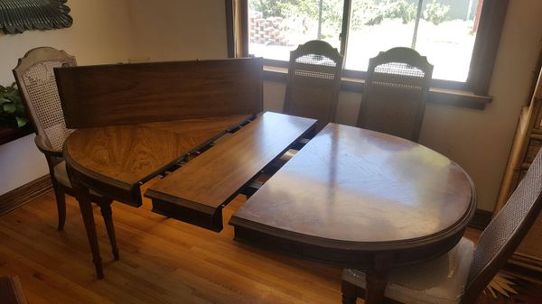 vintage 1960's esperantodrexel dining table and chairs