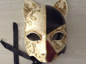 Theatre Mask The Cat
