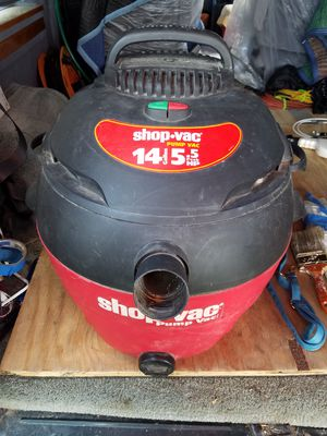 SHOPVAC WET/DRY Vacuum 14 GALLON