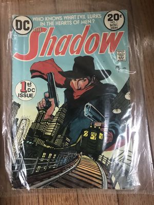 The Shadow First DC issue