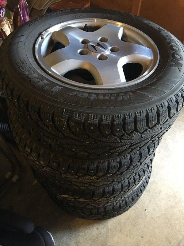 -2002 Honda Accord OEM Rims and Tires ( Cars & Trucks ) in Lynnwood ...